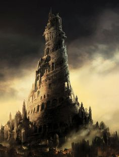 tower fantasy art Prince of Persia Babylon Prince of Persia: The Two Thrones / Wallpaper Fantasy City, Fantasy Castle, Fantasy Places, Fantasy World, Dark Fantasy, Gate Of Babylon, Tower Of Babel, Prince Of Persia, Fantasy Pictures