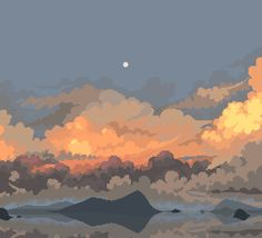 Perfect Pixel - Journey into the heart of pixel art landscape PART 1 - new project — Steemit