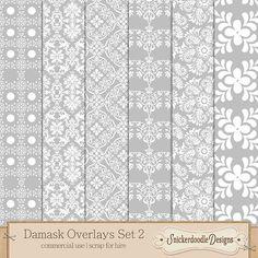Damask Overlays 2