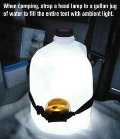 DIY night camping light