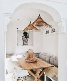 90 Modern Farmhouse Dining Room Decor Ideas You are in the r Luxury Home Decor, Dining Nook, Interior Design, House Interior, Rustic Home Interiors, Interior, Room Design, Modern Farmhouse Dining Room, Dining Room Design Modern