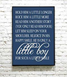 Nydelig plakat til barnerommet Happy Smile, Little Boys, Letter Board, I Shop, Hold On, Let It Be, Lettering, Reading, Naruto Sad