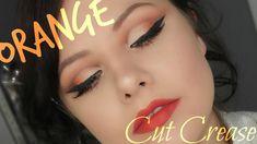 HOW TO : Orange Cut Crease | Danielle Scott