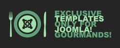 Hot Joomla! restaurant templates