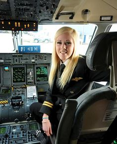 KATE Moran takes charge of a flight aged 25 — and becomes one of Britain's youngest women pilots.
