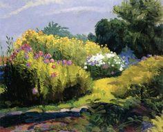A Neighbor's Garden John Sloan- 1916