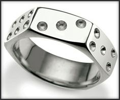 Nut Dice Ring - OMG I am so excited to order this!
