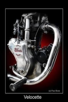 Velocette Engine A WORK OF ART !