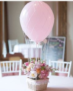 Oh MY!! What a gorgeous way to use solid coloured balloons!! LOVE this   #balloons #diy #partydecor #partyideas #partyinspo #inspo #partyshop #up #flowers #basket #kidsstyle #kidsfashion #bridashower #babyshower #firstbirthday #babiesofinstagram #kidsofinstagram #christening #event #styling #centrepiece #pink #love #decor #littlebooteekau