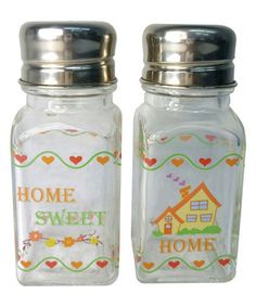 Another great find on #zulily! 'Home Sweet Home' Salt & Pepper Shakers #zulilyfinds