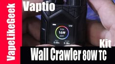 Vaptio Wall Crawler 80W TC Kit with Throne Tank αντικαταστάτης του PICO ; Vaptio Wall Crawler 80W TC Kit with Throne Tank αντικατασταστης του PICO ; Περισσοτερες πληροφοριες εδω https://ift.tt/2M3MQiy The Vaptio Wall Crawler Kit combines a Wall Crawler TC MOD and a Throne Tank in a compact unit. The Wall Crawler features the latest Supercharger Technology from Vaptio. Supercharger Technology is an extremely speedy heating system that aims to deliver an instant big vape hit with full flavor…