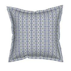 Serama Throw Pillow featuring KRLGFabricPattern_69DBv22 by karenspix   Roostery Home Decor