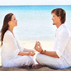 COUPLES YOGA:  Complete these yoga exercises with your partner and your relationship will heat up beyond the mat