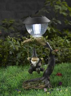 gnomb gardens | garden gnome decor with solar light China (Mainland) Gifts & Crafts