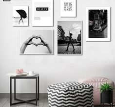 Canvas Art Prints, Canvas Wall Art, Salon Art, Girl Posters, Nordic Art, Decorating With Pictures, Wall Art Pictures, Wall Art Quotes, China