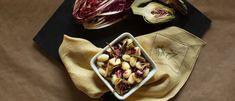 Recipes - Baked Skillet Gnocchi with radicchio and artichokes - Giovanni Rana Rana Pasta, Parmigiano Reggiano, Lemon Slice, Artichokes, Gnocchi, Skillet, Cooking Time, Pasta Recipes, Vegetarian