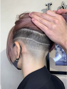 Undercut Long Hair, Buzzed Hair, Hair Tattoos, Side Cuts, Shaving, Short Hair Styles, Hair Cuts, Half Shaved, Hairstyles