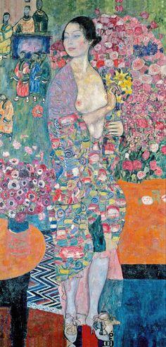 1916-18 Gustav Klimt - Die Tänzerin 3b fl [1916-18] - PC...