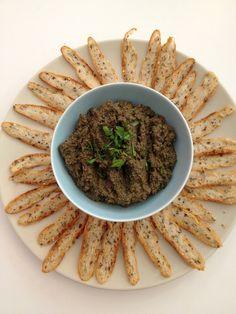 Tapenade & Herbed Toast