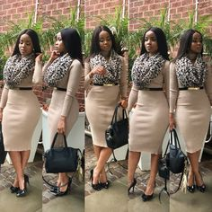 Beautiful Business Casual Attire for the Ladies Casual Work Outfits, Office Outfits, Work Attire, Classy Outfits, Cute Outfits, Casual Office, Outfit Work, Casual Wear, Stylish Office