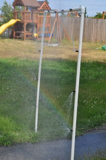 Well here is an easy and fun way to get the kids wet this summer. I found this idea on Instr. Nancy Anthony · diy outdoor misting system