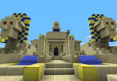 Ancient Egypt texture pack Minecraft Texture Pack