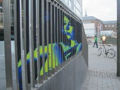 Take A Step Back To Appreciate These Hidden Art Works Painted On Railings - DesignTAXI.com