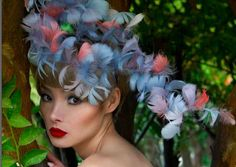 Extravagant Headwear - Many accessories will help you to stand out in the crowd, but nothing like these examples of extravagant headwear. The headdresses are vibrant and ...