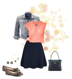 Casual Friday by asilosky on Polyvore featuring polyvore, fashion, style, River Island, maurices, Yumi, Kate Spade, Brooks Brothers, Alex and Ani and clothing