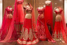IT'S PG'LICIOUS — #indianfashion #red #lehenga