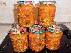 """Салат """"БАКАТ"""" Простые рецепты на каждый день Salsa, Jar, Food, Essen, Salsa Music, Meals, Yemek, Jars, Eten"""