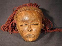 Africa_Congo: Chokwe mask #2 african tribal art