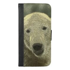 Iphone Wallet Case, Card Wallet, Phone Card, Christmas Card Holders, Polar Bear, Your Cards, Keep It Cleaner, Apple Iphone, Metal