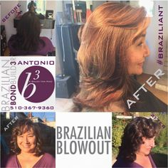 Sharing +Brazilian Blowout & Brazilian Bond Builder & +Antonio A Salon For Hair's photo. On the cusp of the Holidays let +Antonio A Salon For Hair , +Brazilian Blowout and Brazilian Bond Builder Make You #BRAZILIANT . We turned her single color hair with A #CustomTortoiseShelling and finished it with a #Brazilian Blowout resulting with a head of  #HealthySilkyShinyHair . With #BraziliantlyHolidayReadyHair you'll be ready too!!! Give me a call for a #GiftCard ,#GiftCertificate or #appointment