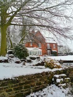 Farmhouse in the snow, Long Birch, Staffordshire, England (All Original Photography by vwcampervan-aldridge.tumblr.com)