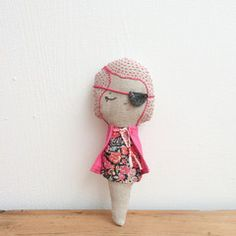 Handmade cloth dolls & soft toys, Irish Linens, Indigo dyed textiles,