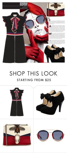 """black13"" by beatrice-ballarini on Polyvore featuring moda e Gucci"