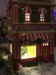 Shows in xmas village