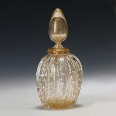 Decorative Crafts Venetian Glass Bottle 7430