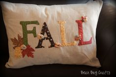 decorative fall pillows images | What do you think? This is the first Fall throw pillow I have and I ...