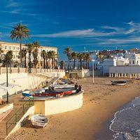 Barrio de la Viña (Cádiz). Playa de La Caleta. Amores de barrio: los más bonitos de España