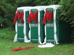 Beautiful Porta Potties by Veeyawn, via Flickr Ugly Xmas Sweater, Portable Toilet, Bathroom Design Luxury, Real Estate Sales, Wedding Photos, Wedding Ideas, Small Bathroom, Event Planning, Toilets