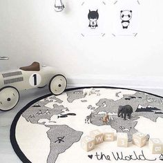 Did you see that the OYOY World rug is on Sale this week?  Where in the world would you like to go today?   This beautiful photo by @dapper_mr_bear  www.lucaslovescars.com.au ❤️🚗 #lucaslovescars  #thewrold #boysroom #monochrome  #mumswithhustle #tdpgraduate #businesschicks #stylishkids #motherofboys #mamasboy #Mummysboy #toys #boyswillbeboys #cars #kidsstyle #toystagram #playroom  #play #playtime #kidsroom #playmatters #thelittlethings #kids #kidsparty #shopsmall #shoponline
