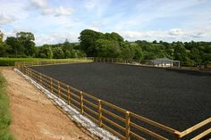 dressage rind fencing | CJ Arenas: Sand School, Horse Riding Arena and Stable Building ...