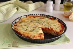 pizza pane - In cucina con Anna Pizza Recipes, Wine Recipes, Gourmet Recipes, Cooking Recipes, Quiches, Pizza House, Bread And Pastries, Vegan Pizza, Savoury Dishes