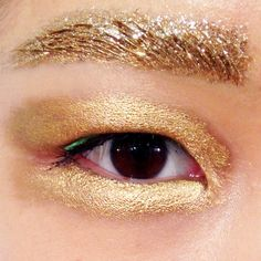 Eyebrows at Dior Spring 2014