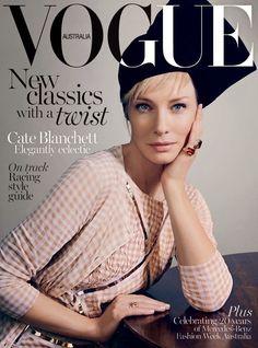 Fantasy Fashion Design: Cate Blanchett es portada en Vogue Australia