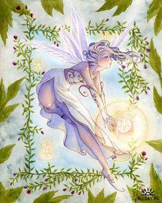 Sara Butcher-Burrier Fairy art
