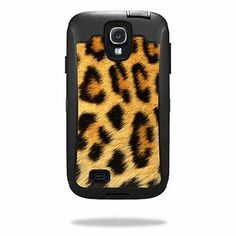 Skin Decal Sticker for Otterbox Defender Samsung Galaxy S4 Case Cheetah | eBay