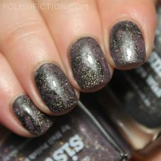 Smoosh manicure / stamper marbling with Picture Polish Sisters and Talisman